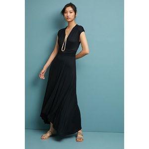 Anthropologie Maeve Bristol Jersey Maxi Dress